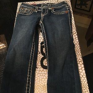Lil girls True Religion jeans